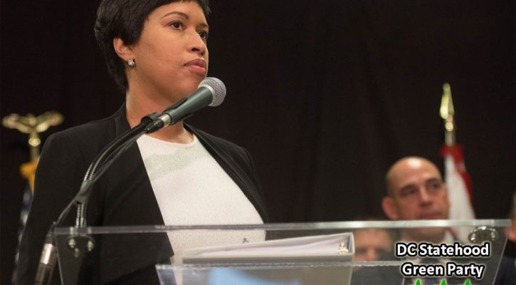 Mayor Muriel Bowser budget plan